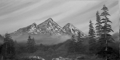 Quiet Solitude in the Sierras